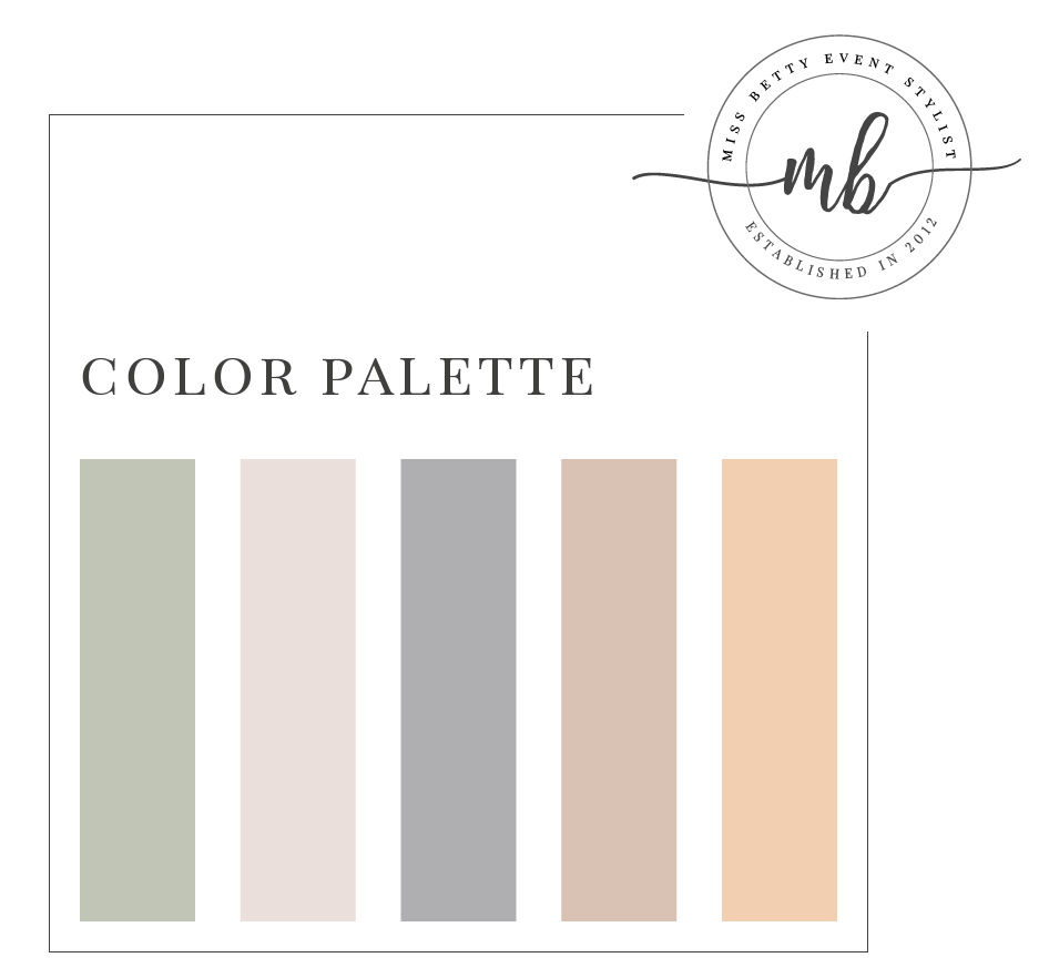 Color palette (Can be changed)