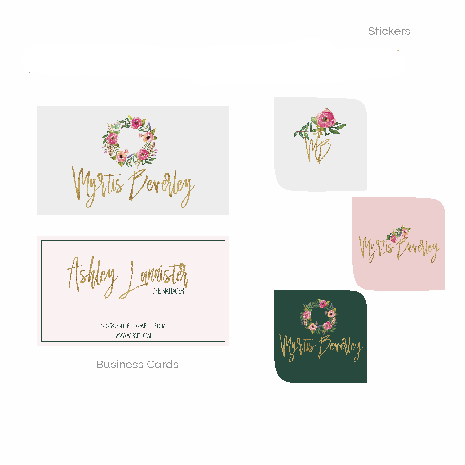 gold and pink logo branding kit premade logo boutique-05.png