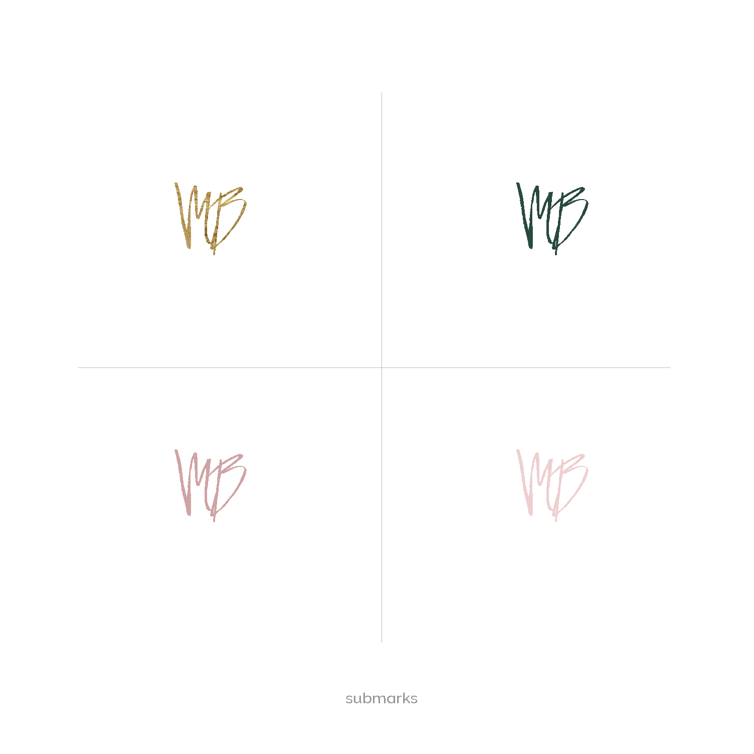 gold and pink logo branding kit premade logo boutique-07.png