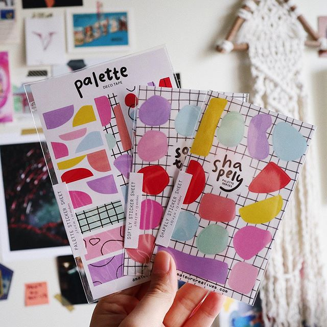 seeing all the palette series sticker sheets together is making me super happy 🥰 these colorful stickers are waiting for you at @paperconph booth E3! ✨ . 📍 Oct. 5, 10am-7pm @ Prosperity Hall, Elements Centris . . . #plannerph #bujoph #plannerstickers #bulletjournal #paperconph #amateurcreatives #clearstickers #creativejournaling #amateurcreativesshop