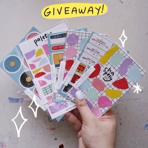 "CELEBRATION TIME! 🎉 The past few weeks was quite exciting for me as I hit a couple of milestones — I tabled at my first convention (#PaperconPH) and there's 1,000+ of you here on IG! ✨  As a way of celebrating these fun times, I'm hosting a GIVEAWAY 👏 Two winners will win a set of ALL my stickers! Yep, everything you see in the photo ;) To join, you have to do the ff:  1️⃣ Follow me here on IG — @pamllaguno. No giveaway/dummy accounts pls! 2️⃣ Make your account public until I announce the giveaway winner. 3️⃣ Tag a friend in the comments and answer this question: ""If you win, where/how will you use the stickers?"" 🙂  That's it! You can only join once; multiple entries will not be counted. Open to everyone (local + intl). Giveaway period is until Oct. 27 11:59pm Manila time.  I will choose a random winner and announce it on Oct. 28 (Monday) at 4pm Manila time via IG stories ✨  Good luck! Super grateful to have all of you here supporting my teeny tiny creative biz 🥰  #amateurcreatives #amateurcreativesshop"
