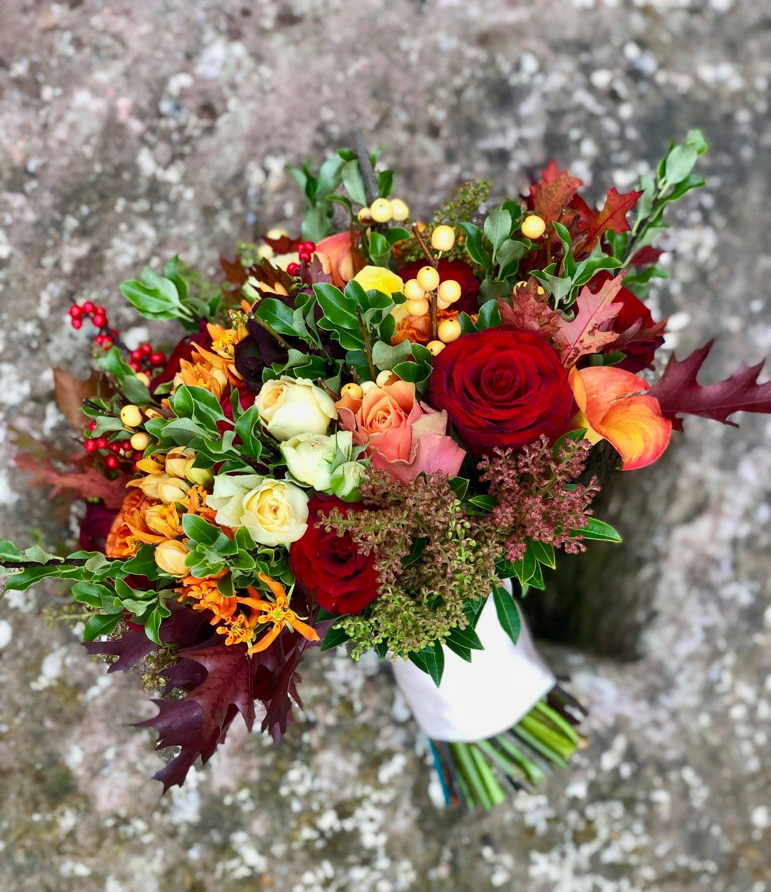 Bespoke floral arrangements - On one of the most important days of your life, you'll want every aspect to be perfect. At Emma Webster Flowers we create beautiful, tailor-made floral arrangements, perfectly suited to the tone of your wedding or special occasion.