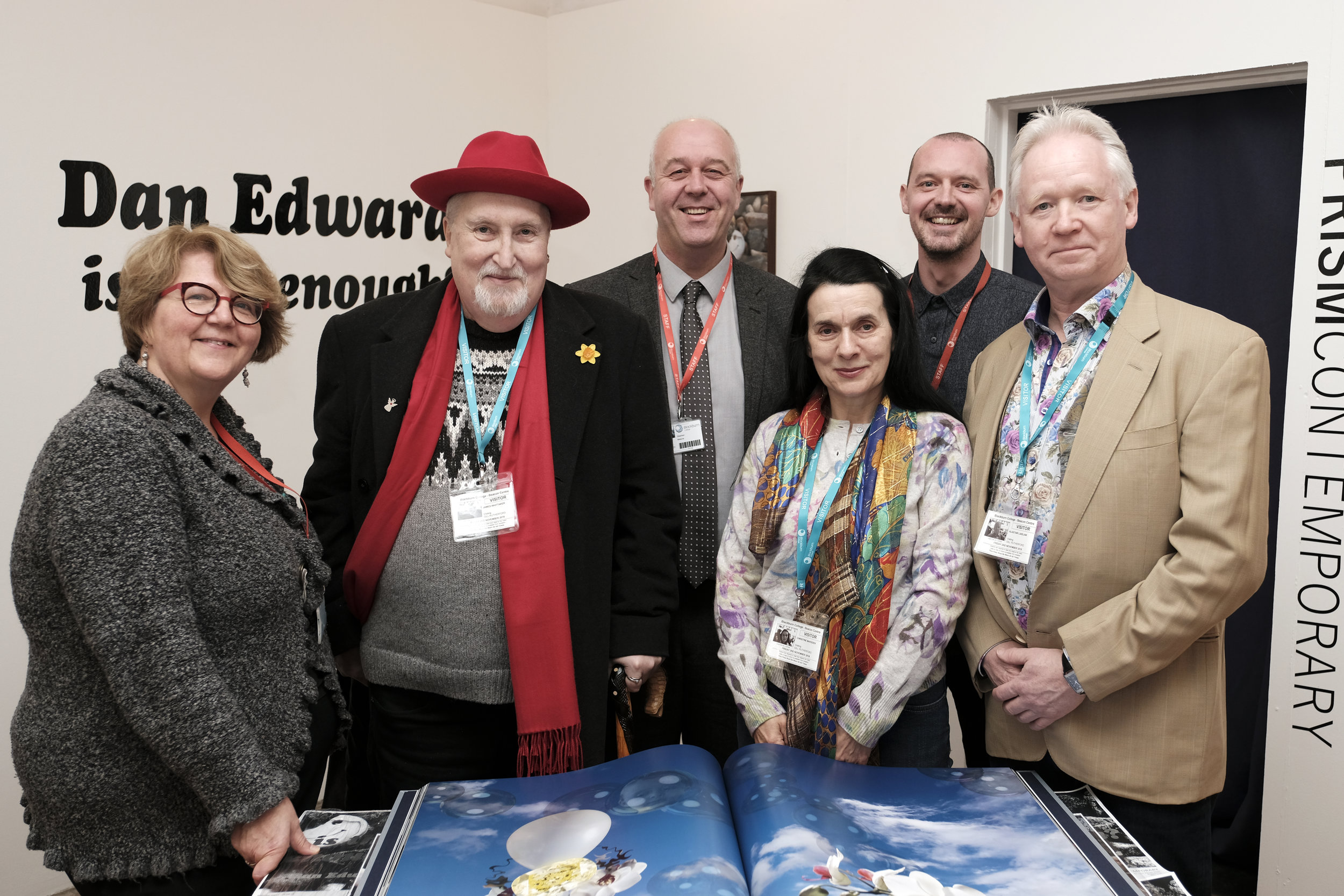 From left:  Gill Rutherford, James A Whittaker, Stephen Malone, Christine Marsden, Steve Baldwin and Alastair Laidlaw     All Photos by IVOR WOOD