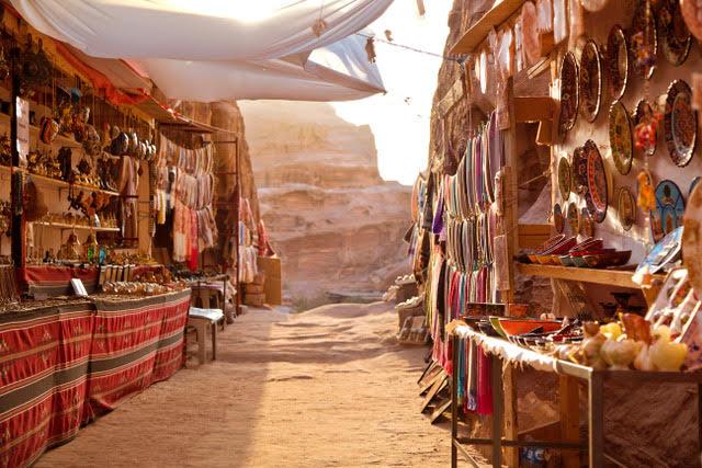 Petra - Bedouin's shops