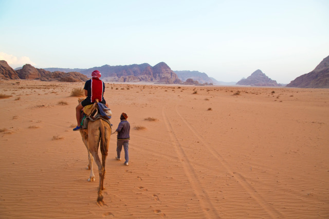 Wadi Rum camel ride.jpeg