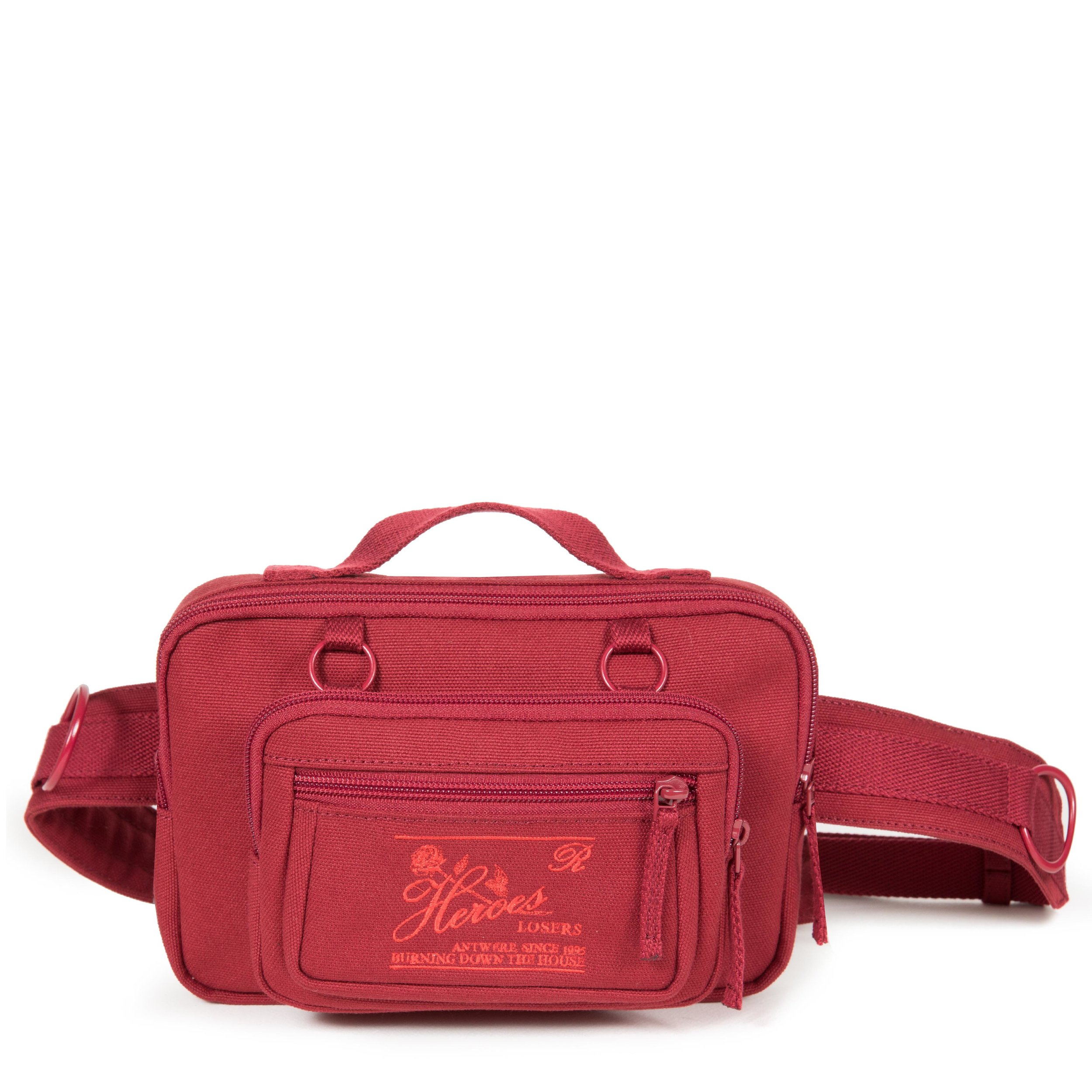 Eastpak X Raf Simons - Waistbag Loop - Burgundy - £100 - www.eastpak.jpg