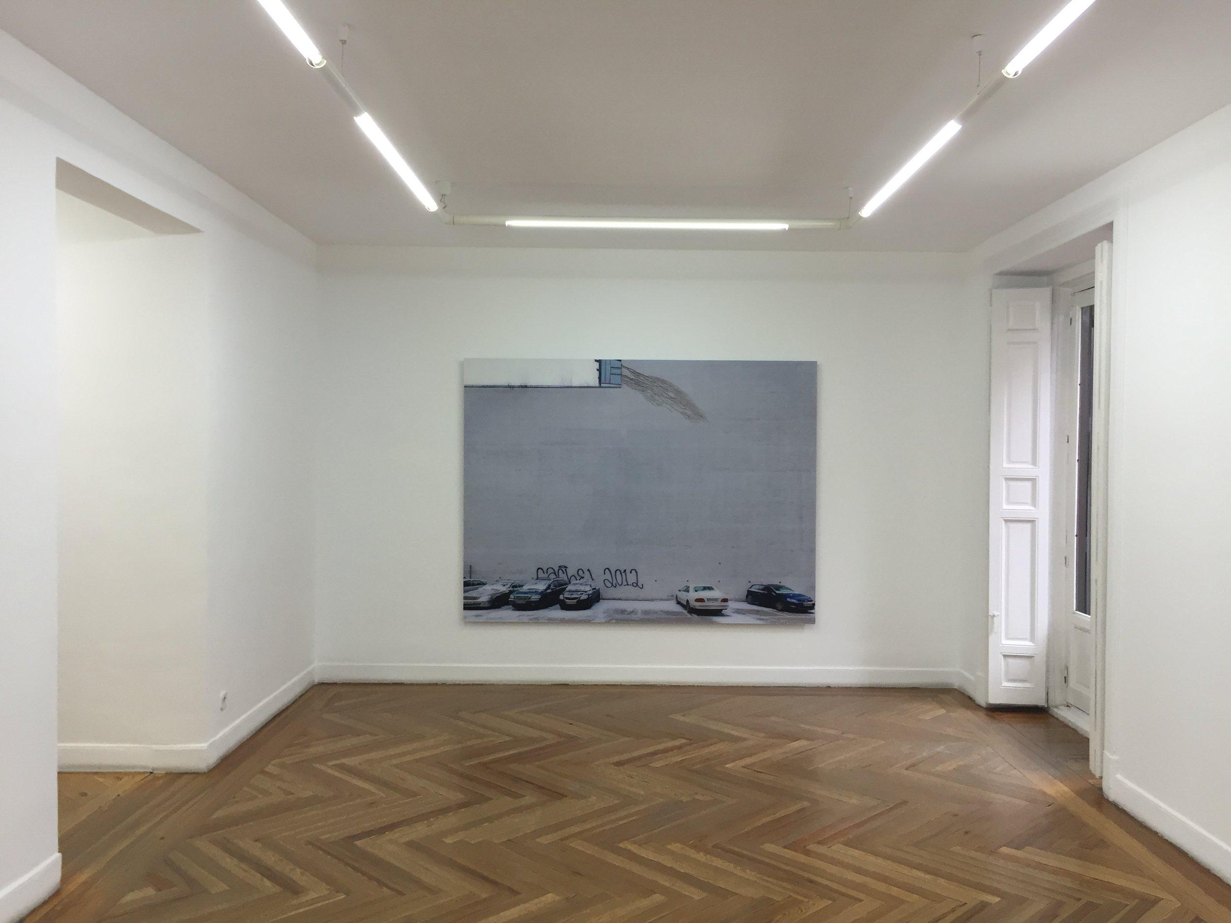 """""""Lineas de fuga"""". Galeria La Caja Negra, Madrid."""