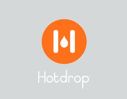 Hotdrop // logo