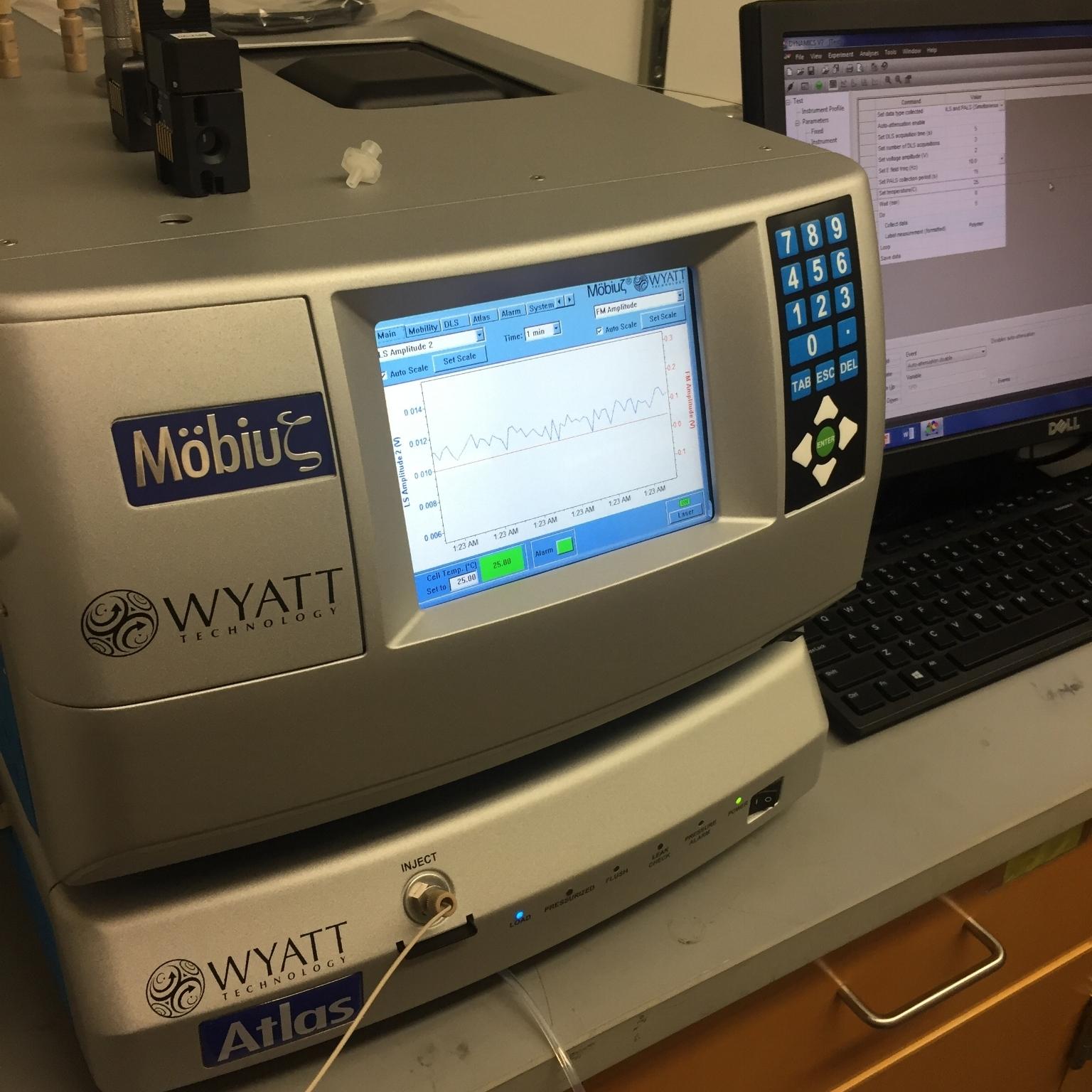 Wyatt Mobius - DLS & Electrophoretic Mobility