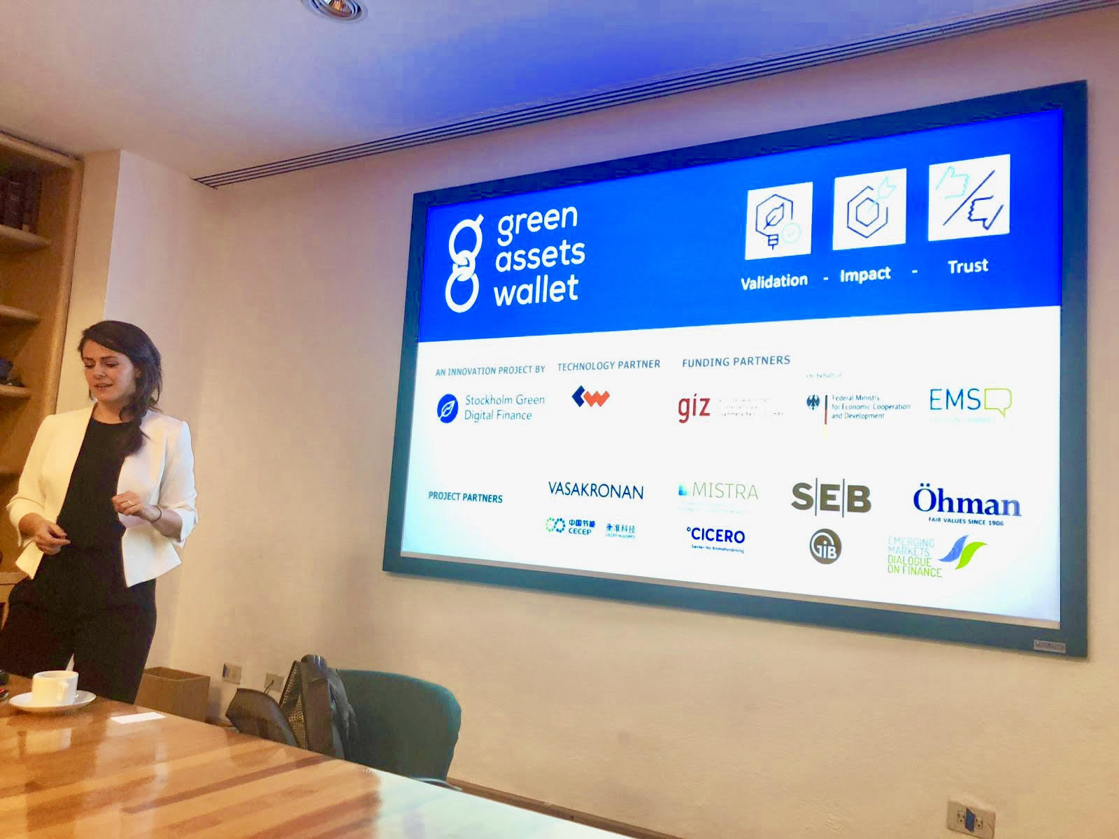 News — Stockholm Green Digital Finance