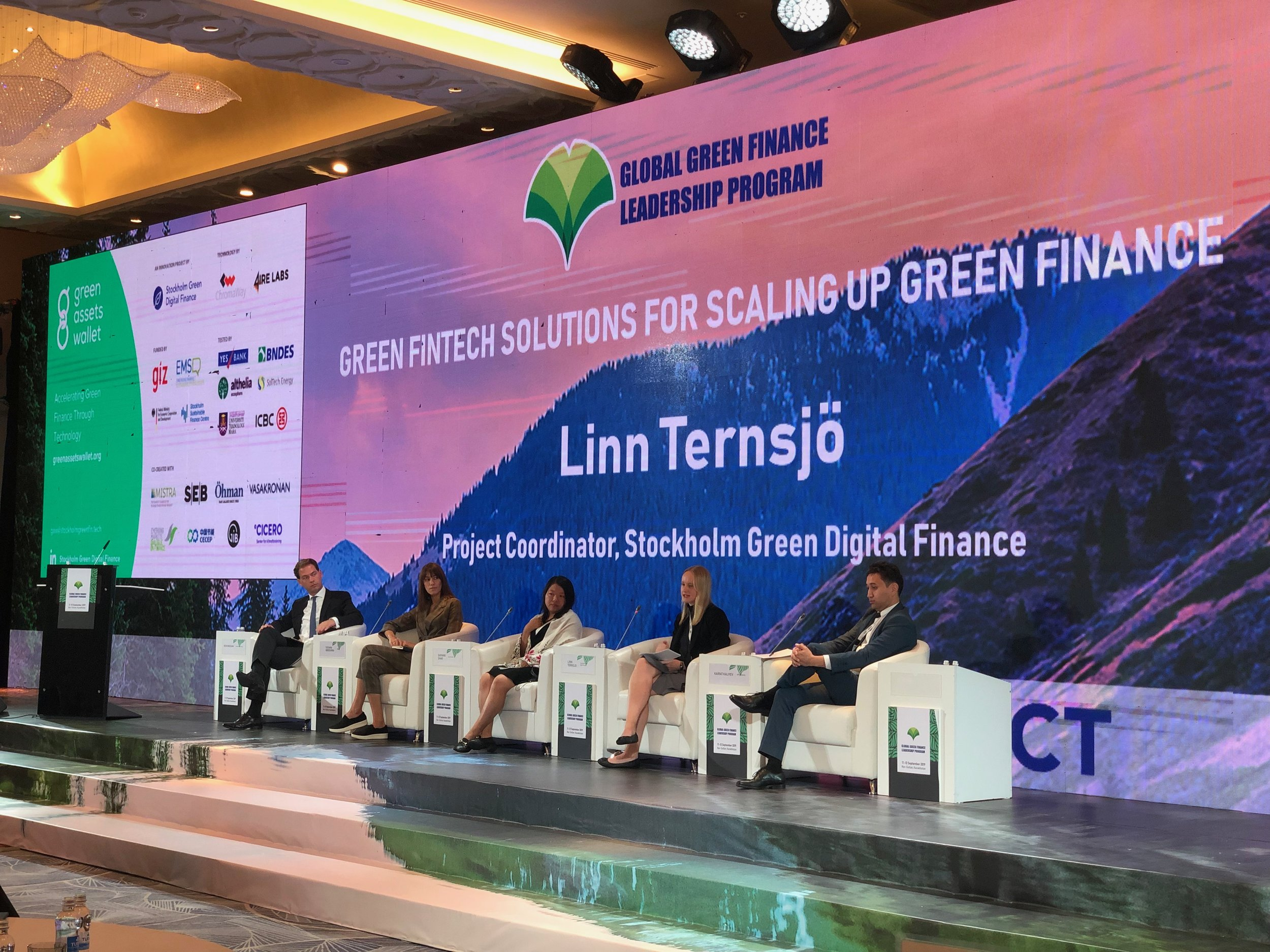 Fintech Panel in Astana