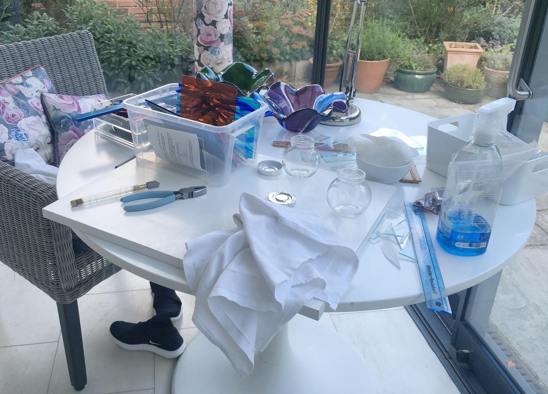 - My 'studio'!