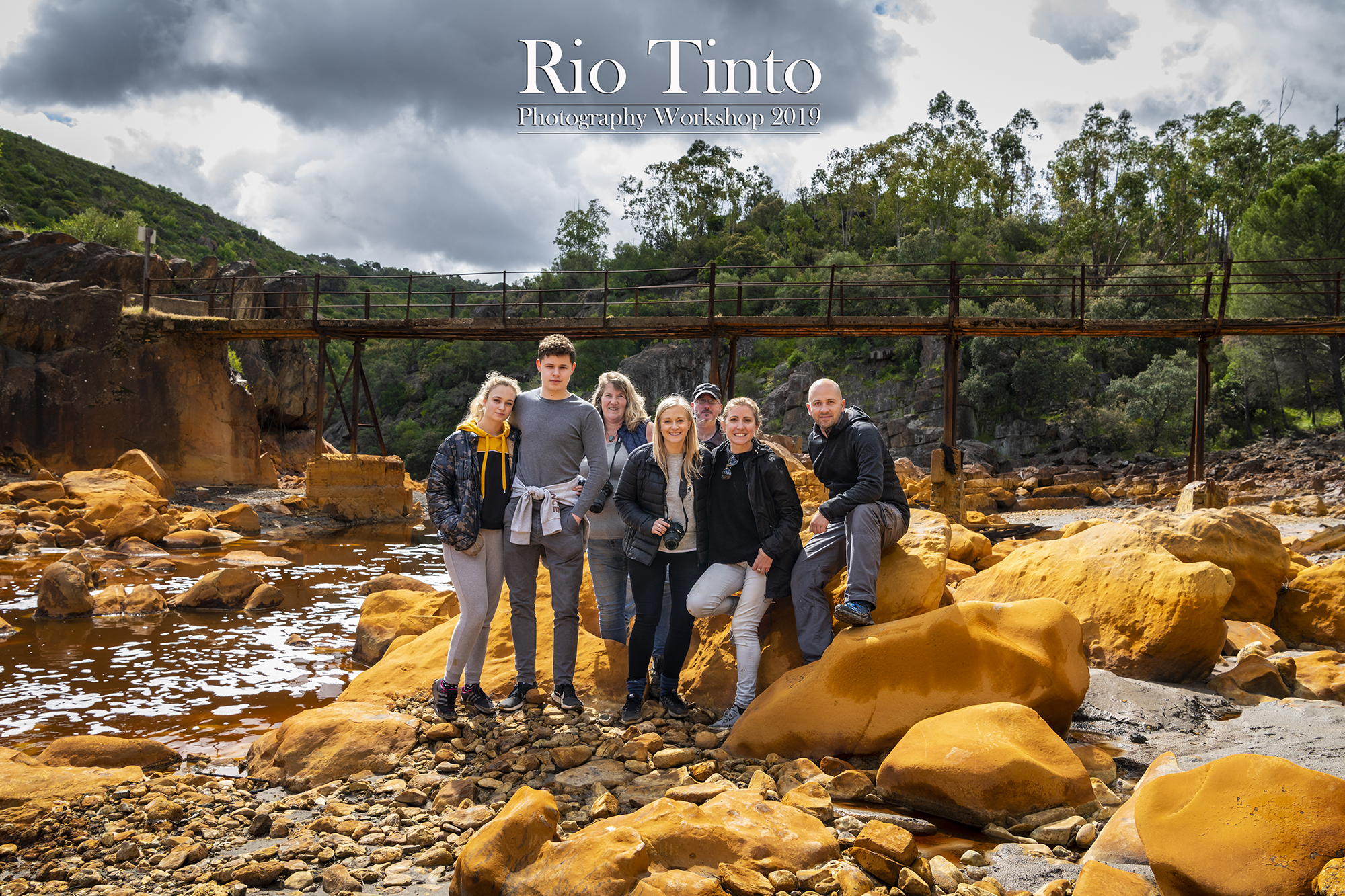 Rio Tinto Weekend Workshop 2019. (2020 dates coming soon).