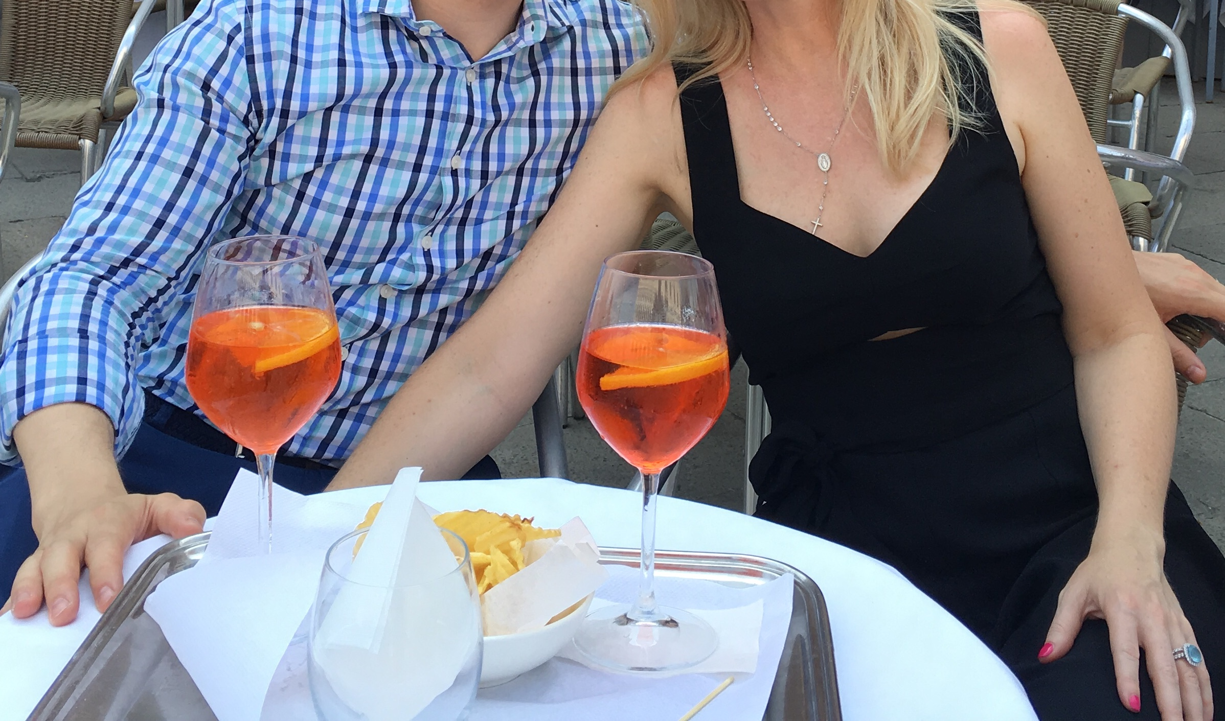 Aperol Spritz keeps the Roman summer going long into the fall!