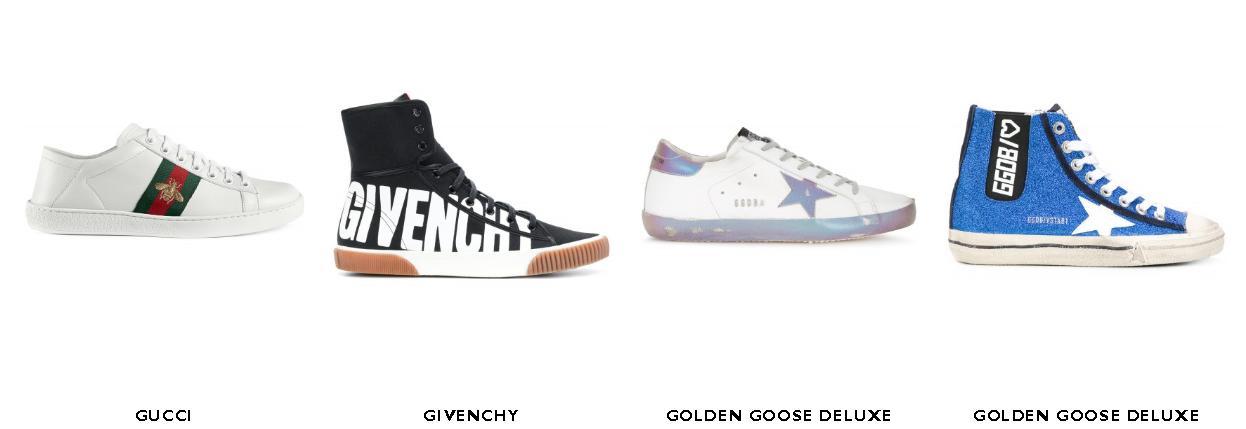 The latest in sneakers from  Gente Roma  in Via Cola di Rienzo