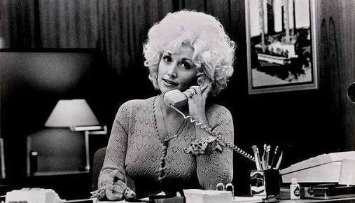 Dolly Parton as 'Doralee Rhodes' in Nine to Five (1980)