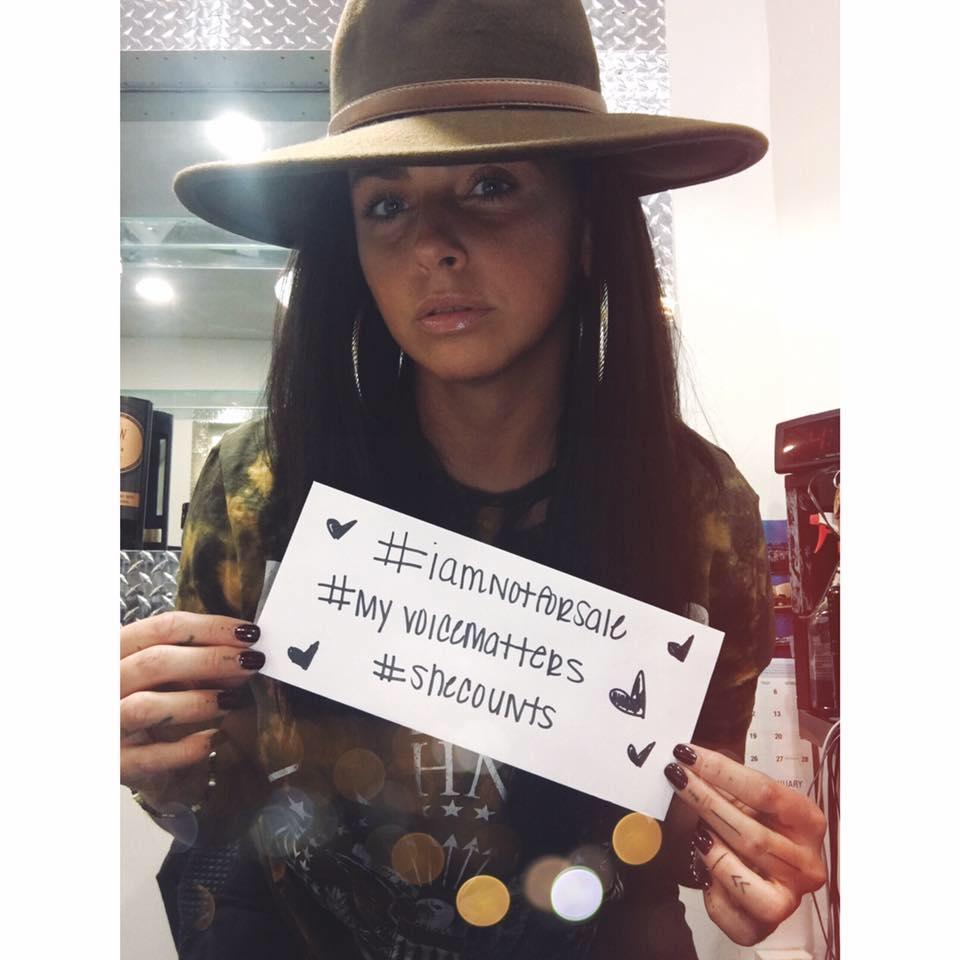#iamnotforsale #myvoicematters #shecounts