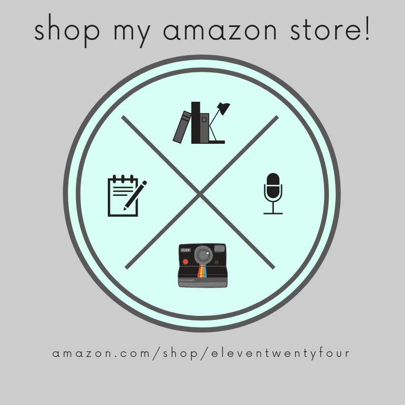 check out my very own Amazon store! - shop my current & recommended reads, what equipment i use to podcast with, my lifestyle must haves, my favorite amazon finds, & more!