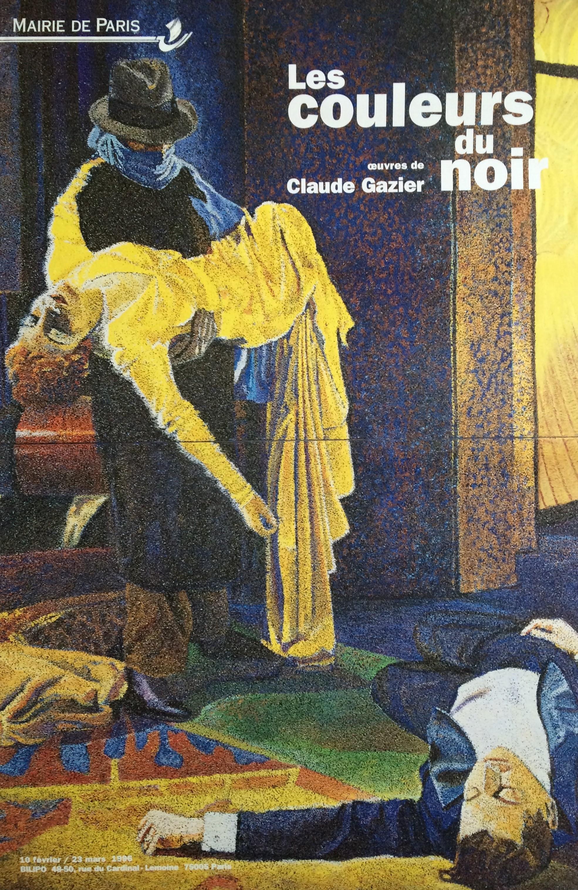 Affiche Les couleurs du noir, BILIPO Paris 1996.jpg
