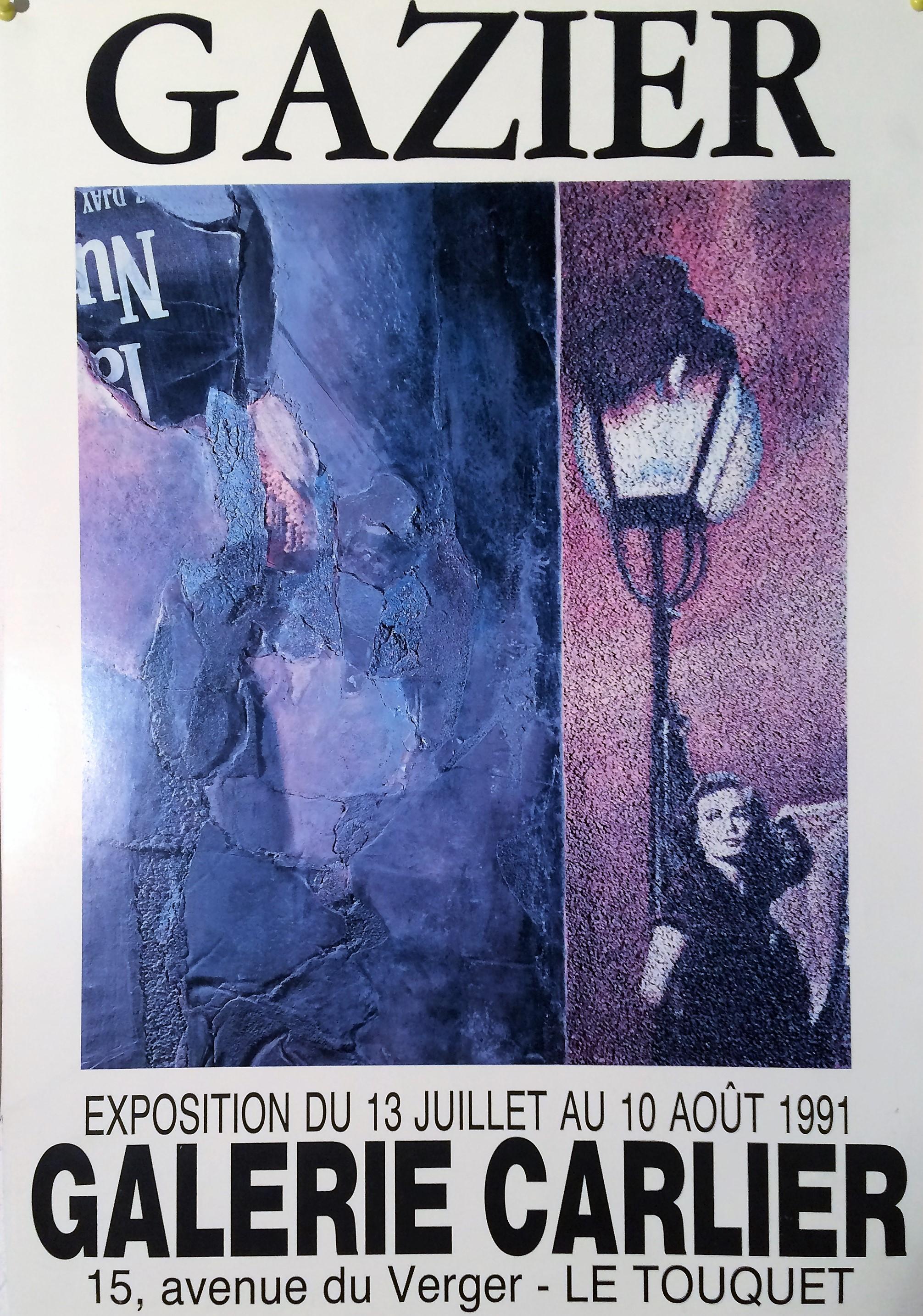 Affiche galerie Carlier Le Touquet 1991.JPG