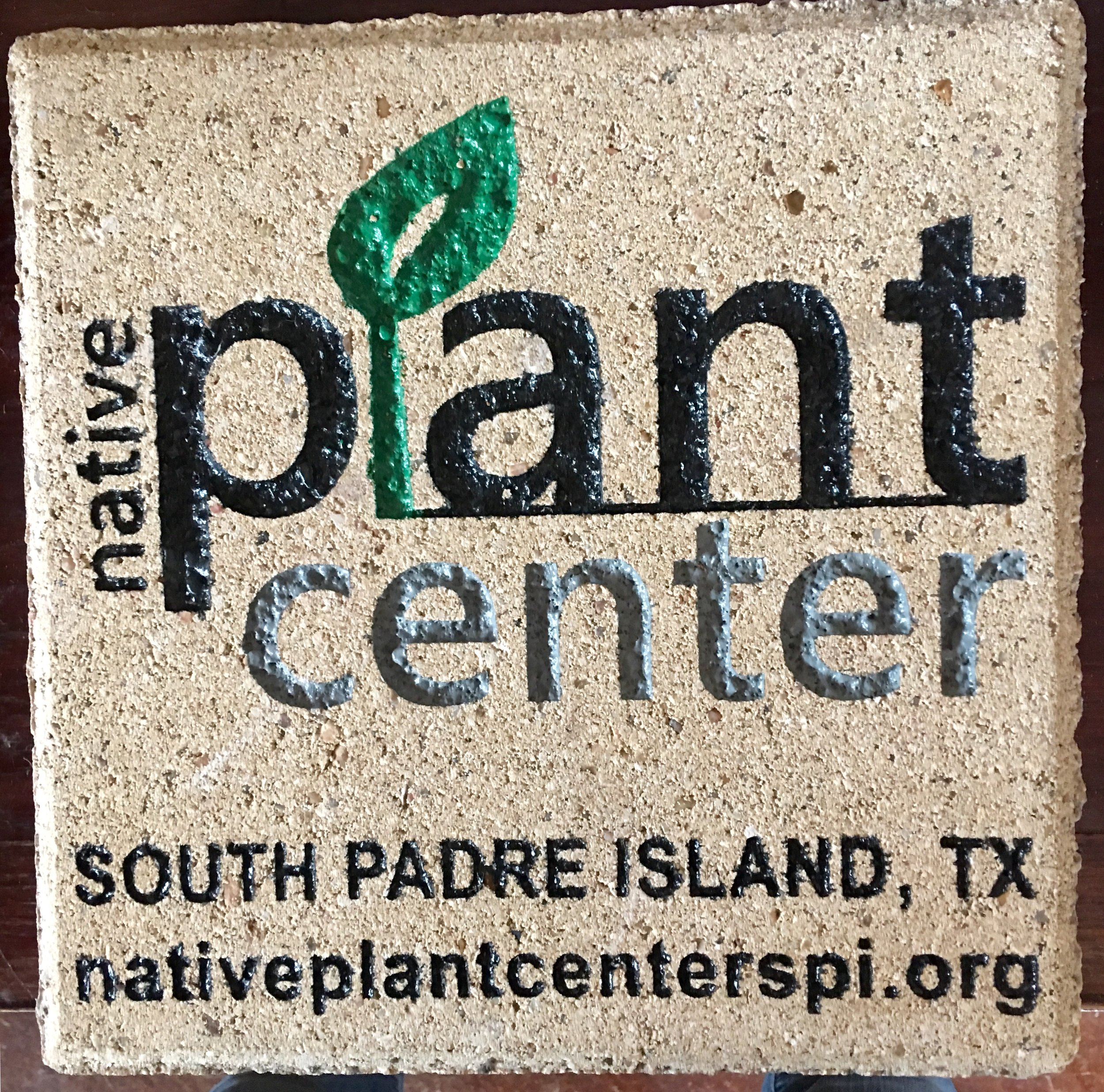12x12 Eight Line Paver or Your Logo & Text — $2,500 -