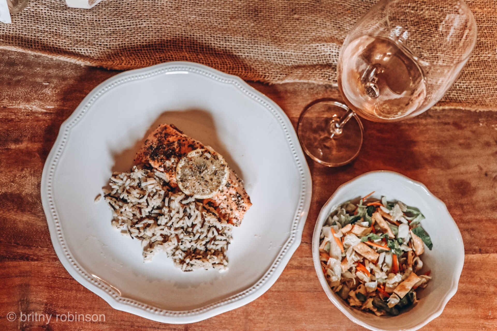 baked salmon meal in 30 minutes