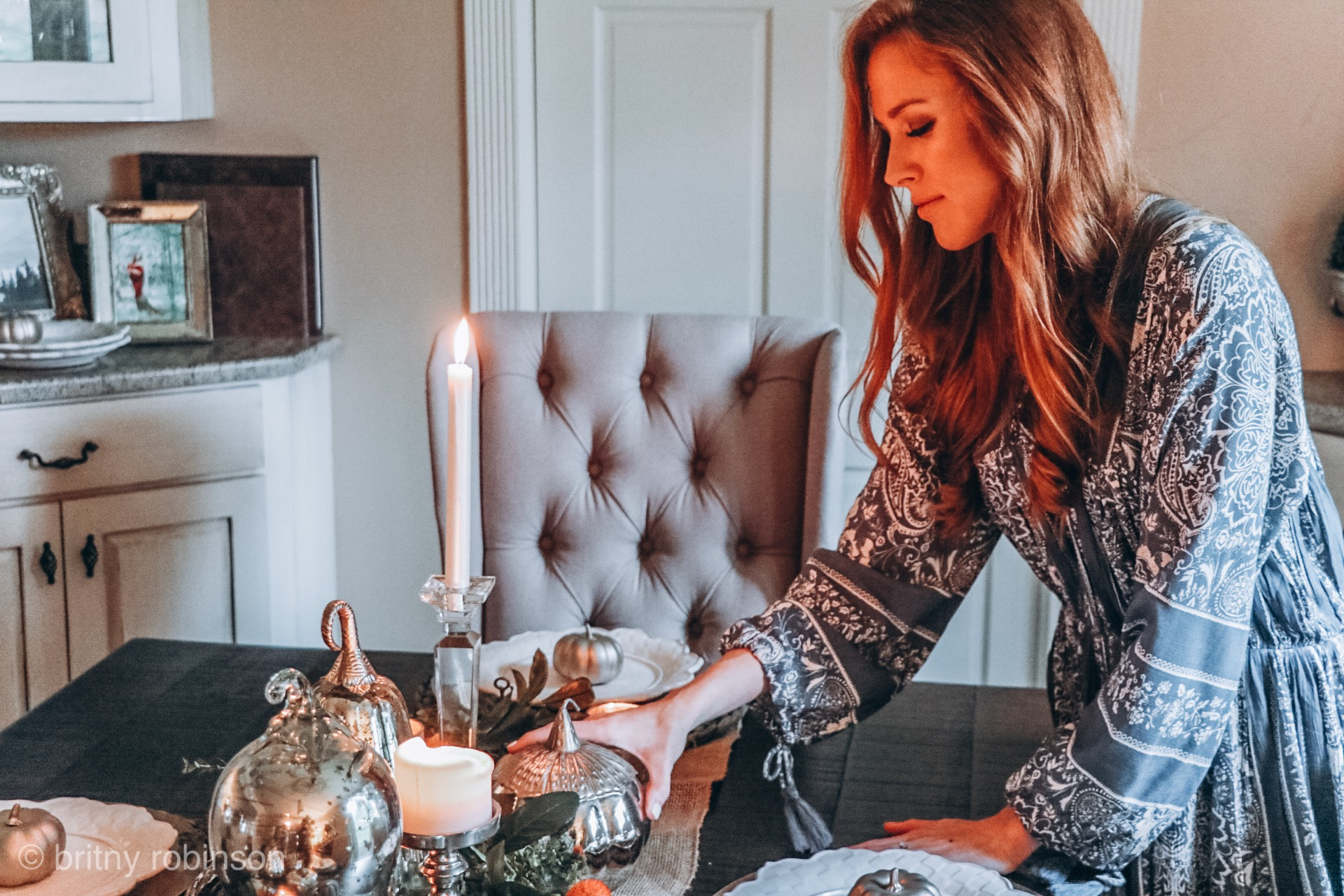 how to decorate your fall table