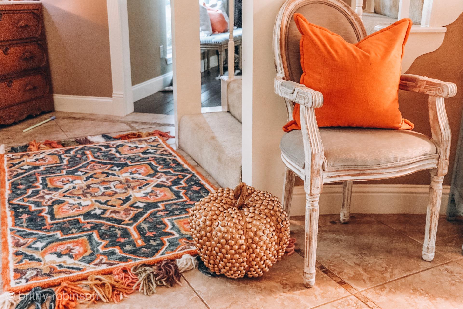 Loloi Rugs and Fall Home Decor