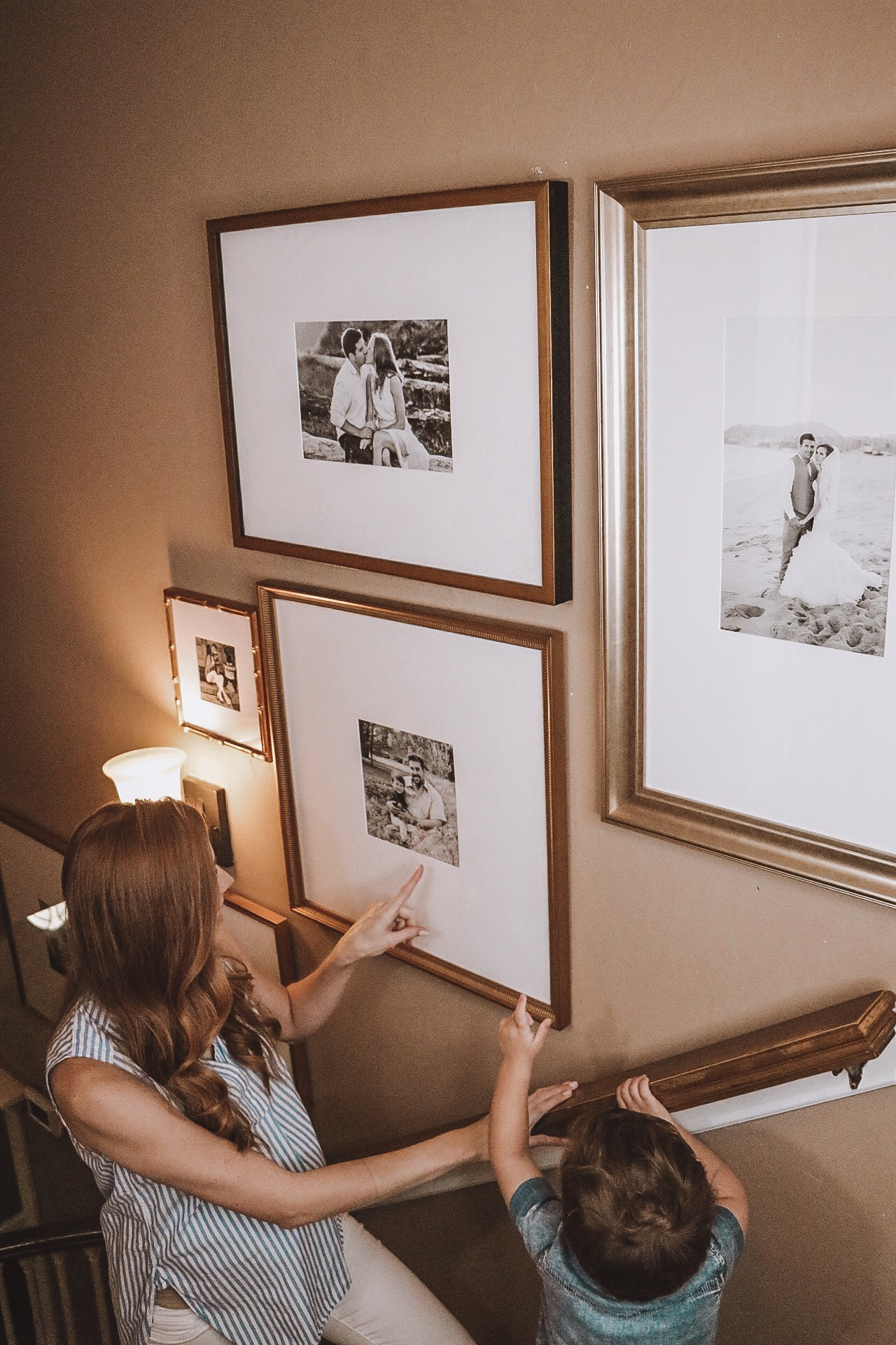 How to Create A Gallery Wall: A Partnership with Framebridge