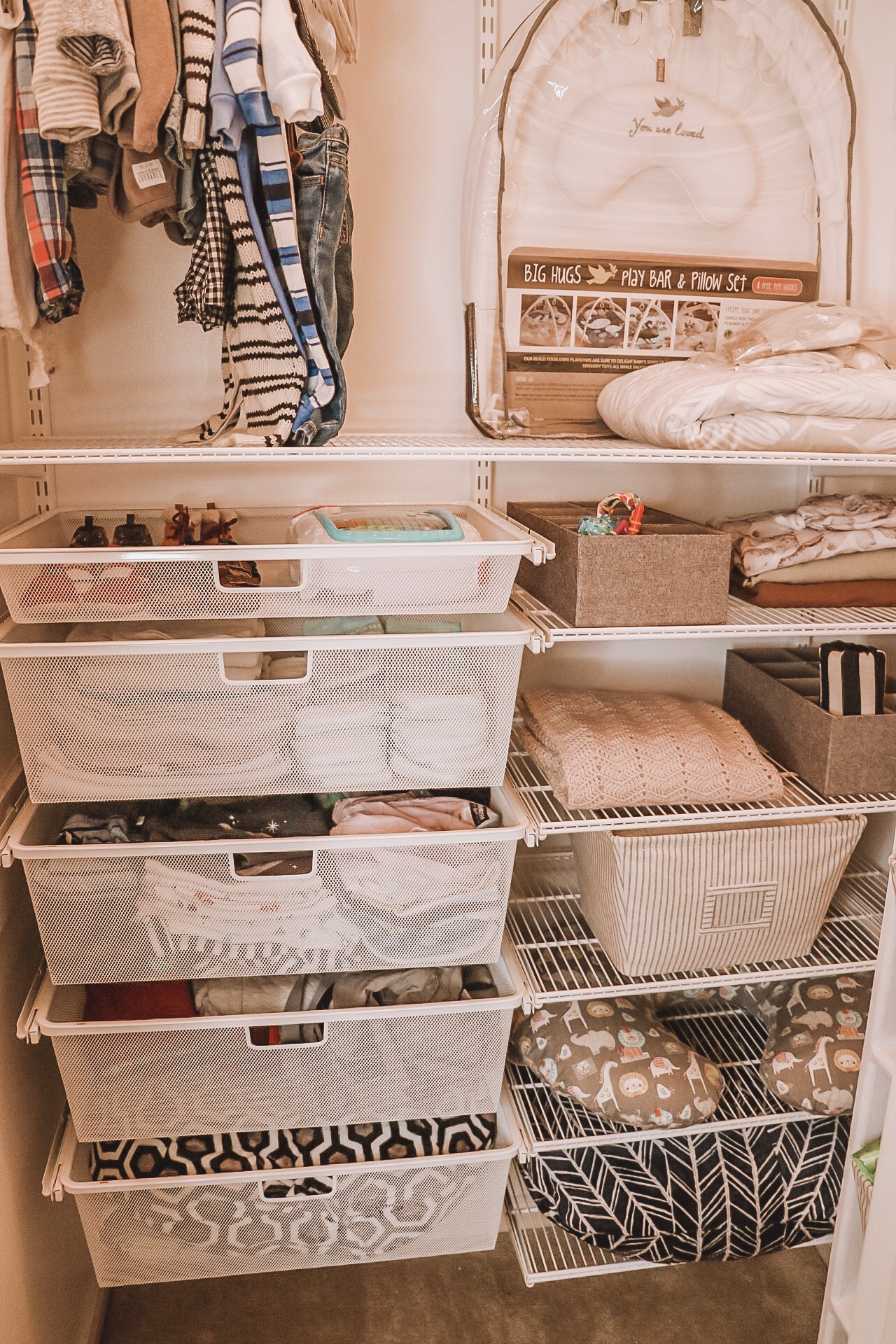 Organizing and Preparing Your Home for a Newborn: A Partnership with The Container Store