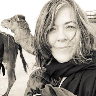 Michelle Fletcher Artist Camels and Couscous