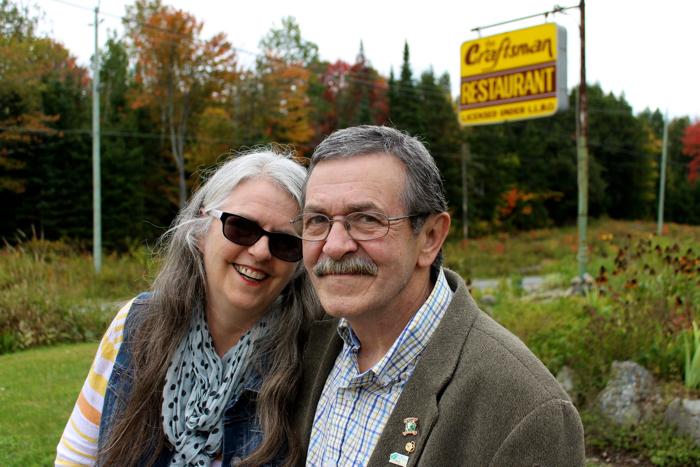 Ramona Tremblay & Jim Thomson have operated the Craftsman Restaurant since 1986.
