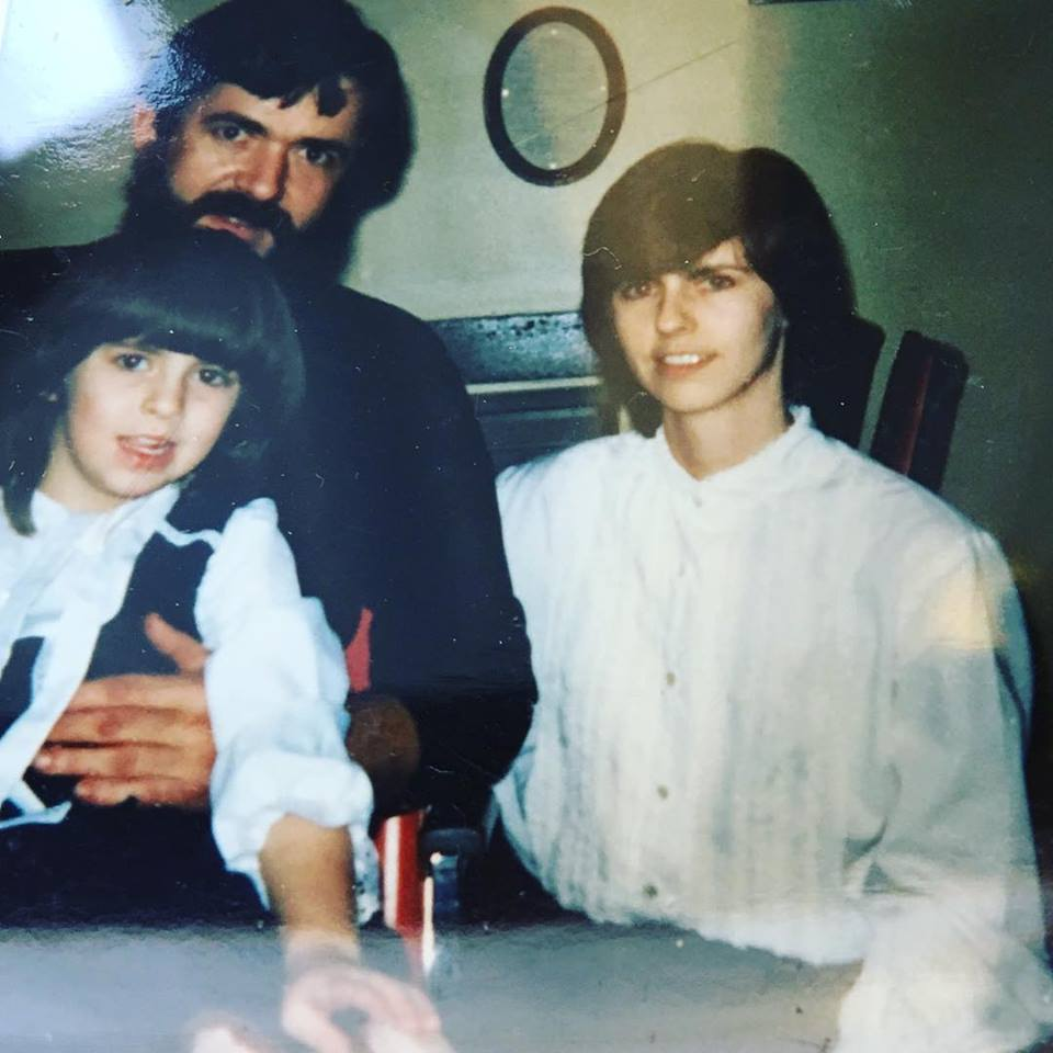 the way we were, Jim, Ramona, and daughter Michelle