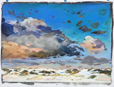 Maria Hoch - Cloudscape 2
