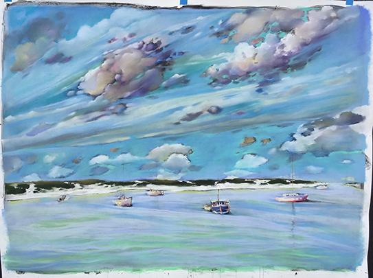 Maria Hoch - Cloudscape 4