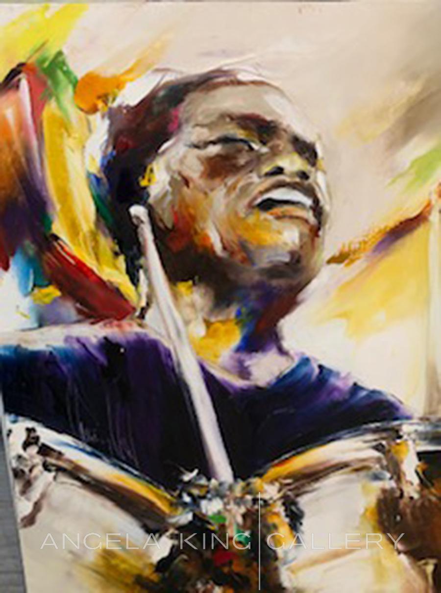 Batteur L'arme Jazz