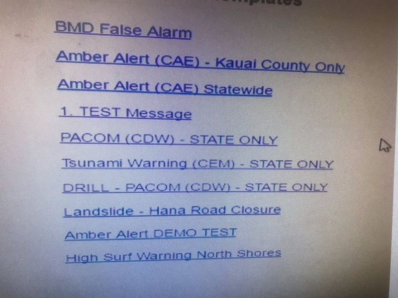 This is the UI of the alert system or at least what was found on the web. Whether or not this is real, it needs help!