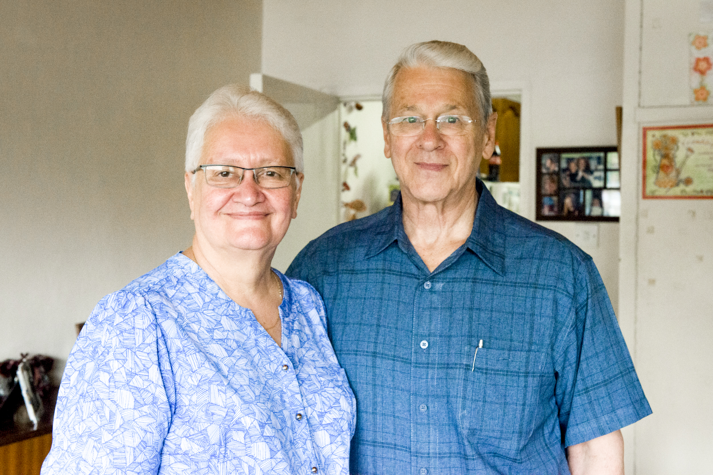 THE SCHWANDTS - Since the 1970s Irvin and Ruth Schwandt have made it their life's mission to provide healing and peace to others in Africa. From building a recording studio to broadcast biblical teachings across the country, to opening an orphanage of their own in 1998, they have worked tirelessly to serve others. Married for 41 years, they have three children and live at the Nairobi location of Rehema Home.