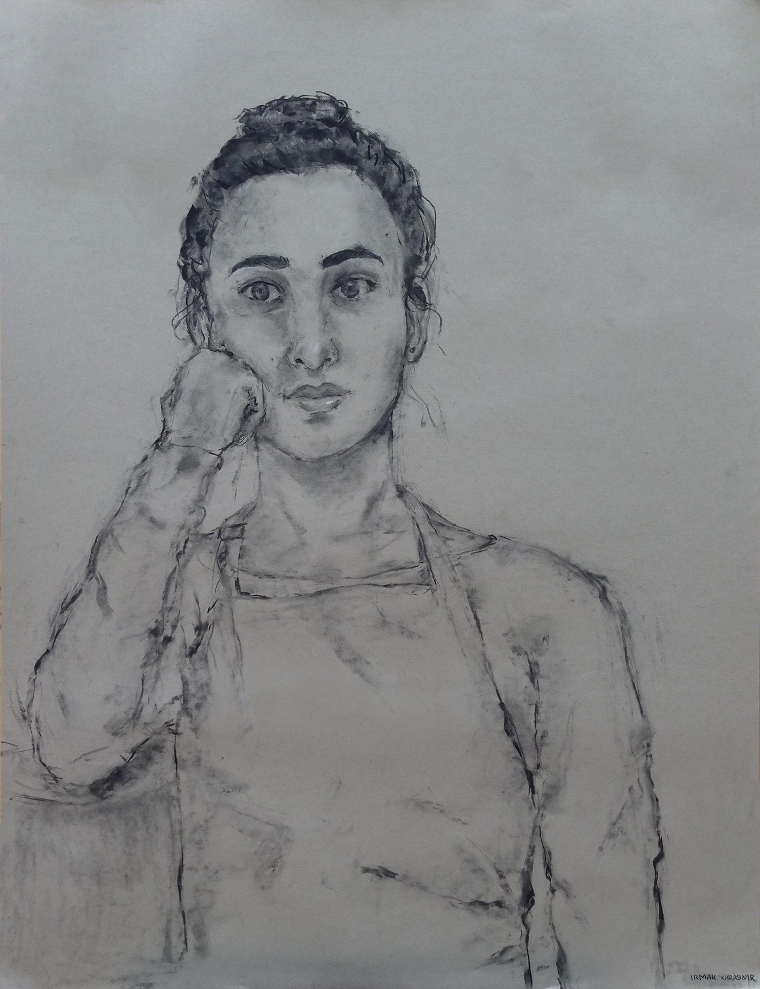 "Irmak Karasinir (John Burroughs), ""Resting Self-Portrait,"" 2017"