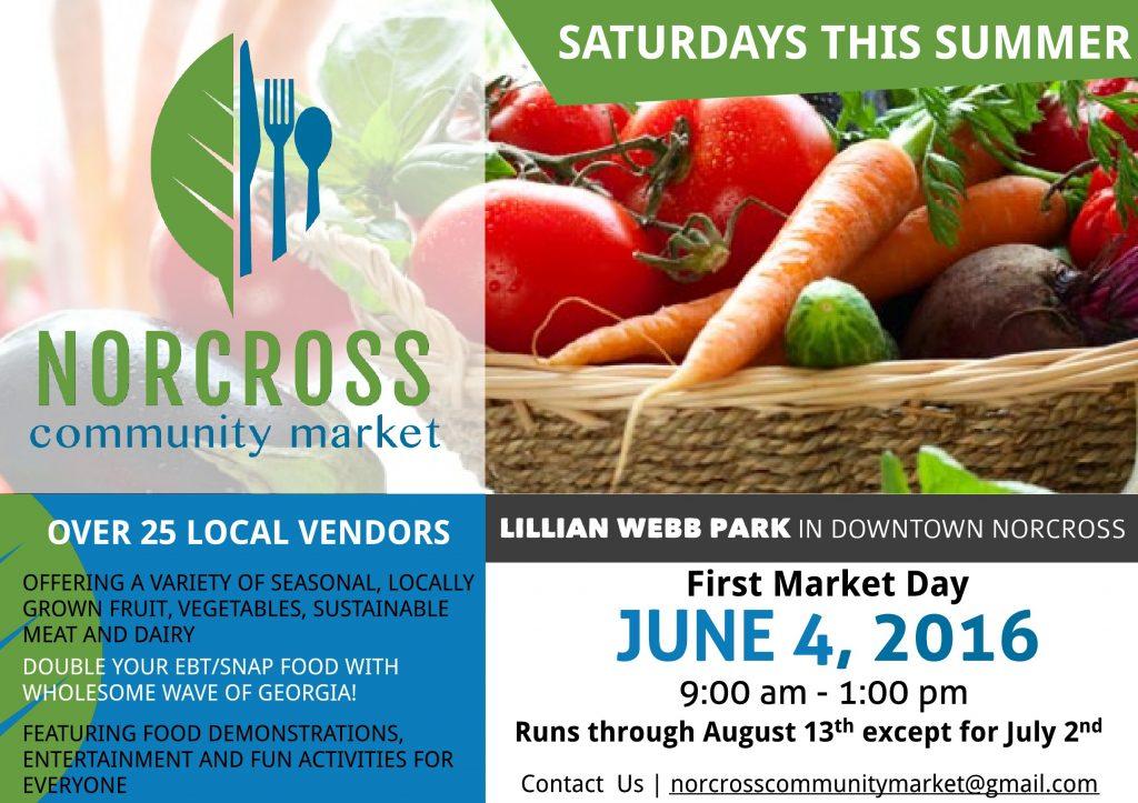 Norcross Community Market Information Card