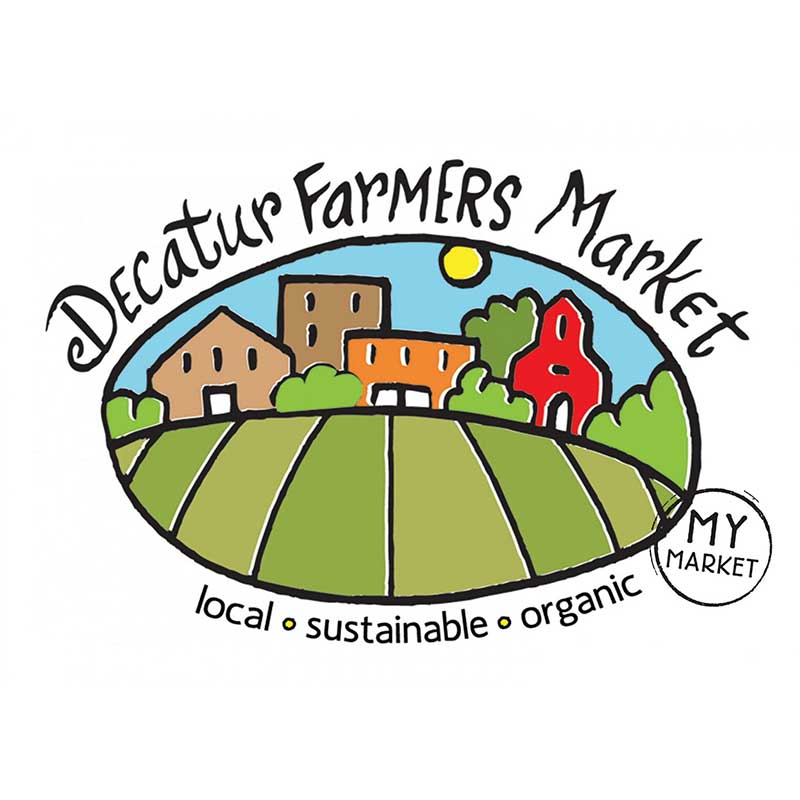 CFM:  Decatur Farmers Market   April - December  Wednesdays 4 pm – 7 pm  Saturdays 9 am - 1 pm  308 Clairemont Ave, on the corner of Commerce St., on the lawn of the First Baptist Church of Decatur  Contact: Porter Mitchel  porter@cfmatl.org