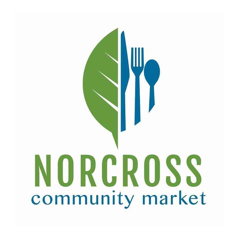 Norcross Community Market   June– August  Saturdays 9 am – 1 pm  Lillian Webb Park, 5 College Street NW, Norcross, GA 30071  Contact: Connie Weathers  norcrosscommunitymarket@gmail.com