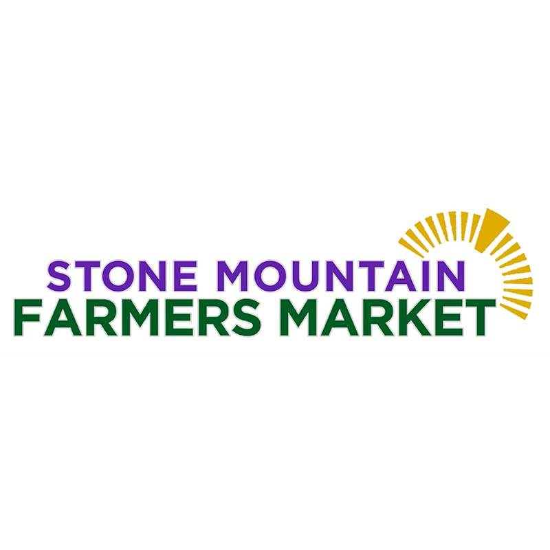 Stone Mountain Farmers Market   April – October,  Tuesdays 4 pm - 7 pm  Municipal Parking Lot, 922 Main Street, Stone Mountain, GA 30083  Contact: Kim Cumbie  kcumbie@stonemountaincity.org