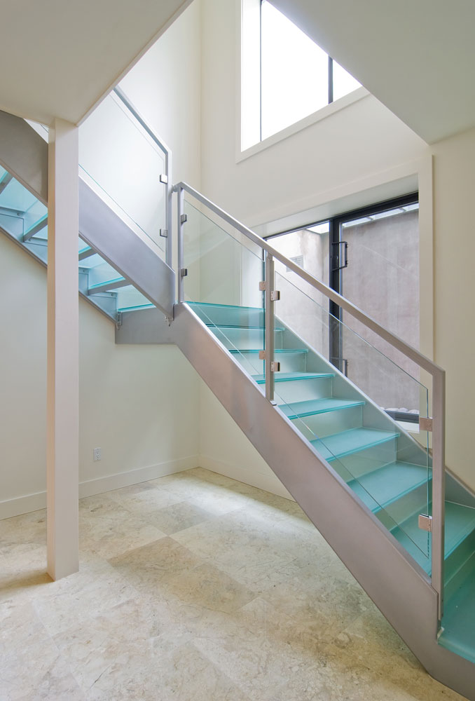 Howard Z Freeman Commercial Glass Staircase