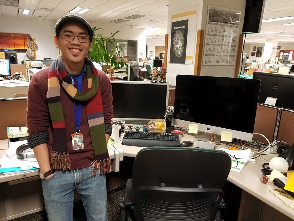 Kai Teoh - @jkteohKai Teoh is a web developer at the Spokesman-Review, where he's built a custom craft beer recommendation app and a game showing how hard it is to immigrate to the U.S. He has previously worked at the St. Cloud Times and the Journal News.