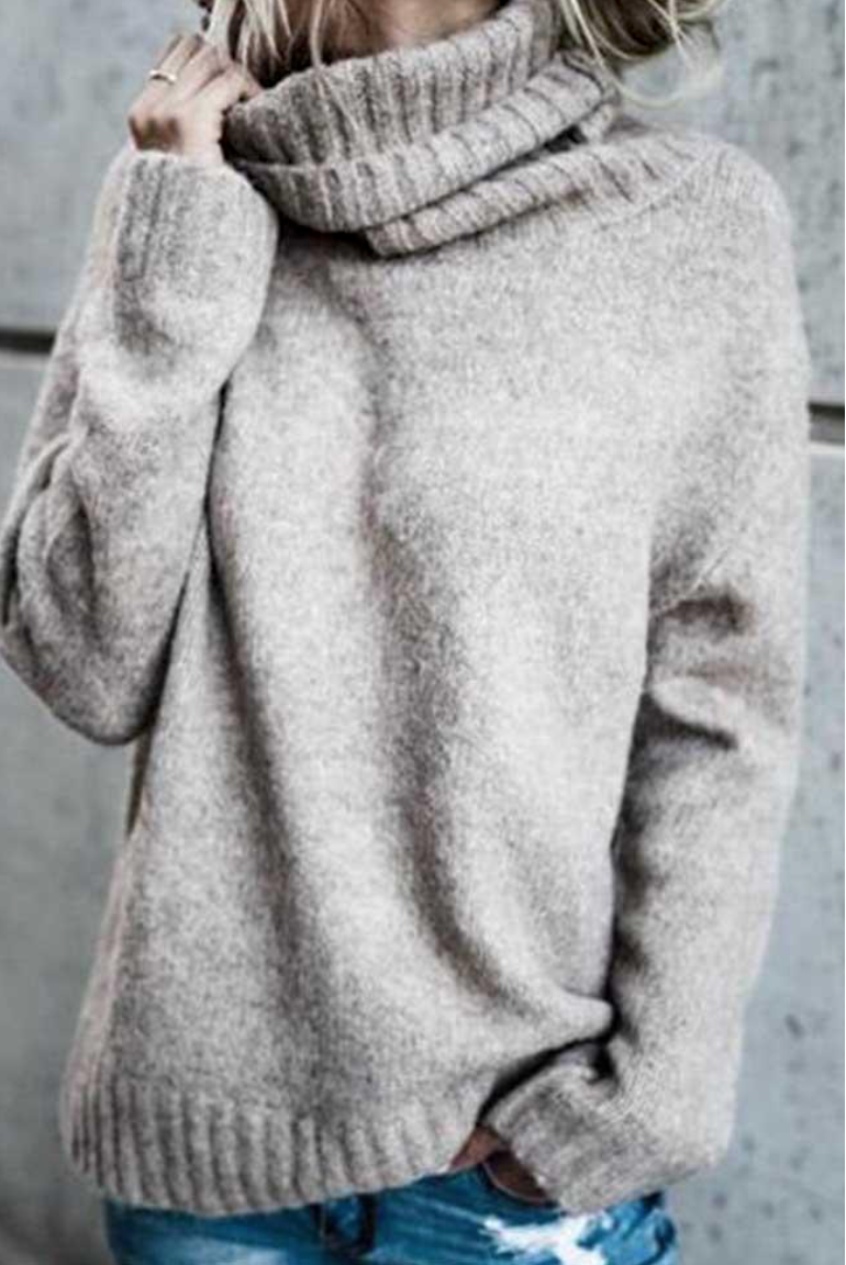 Girl Neutral Sweater