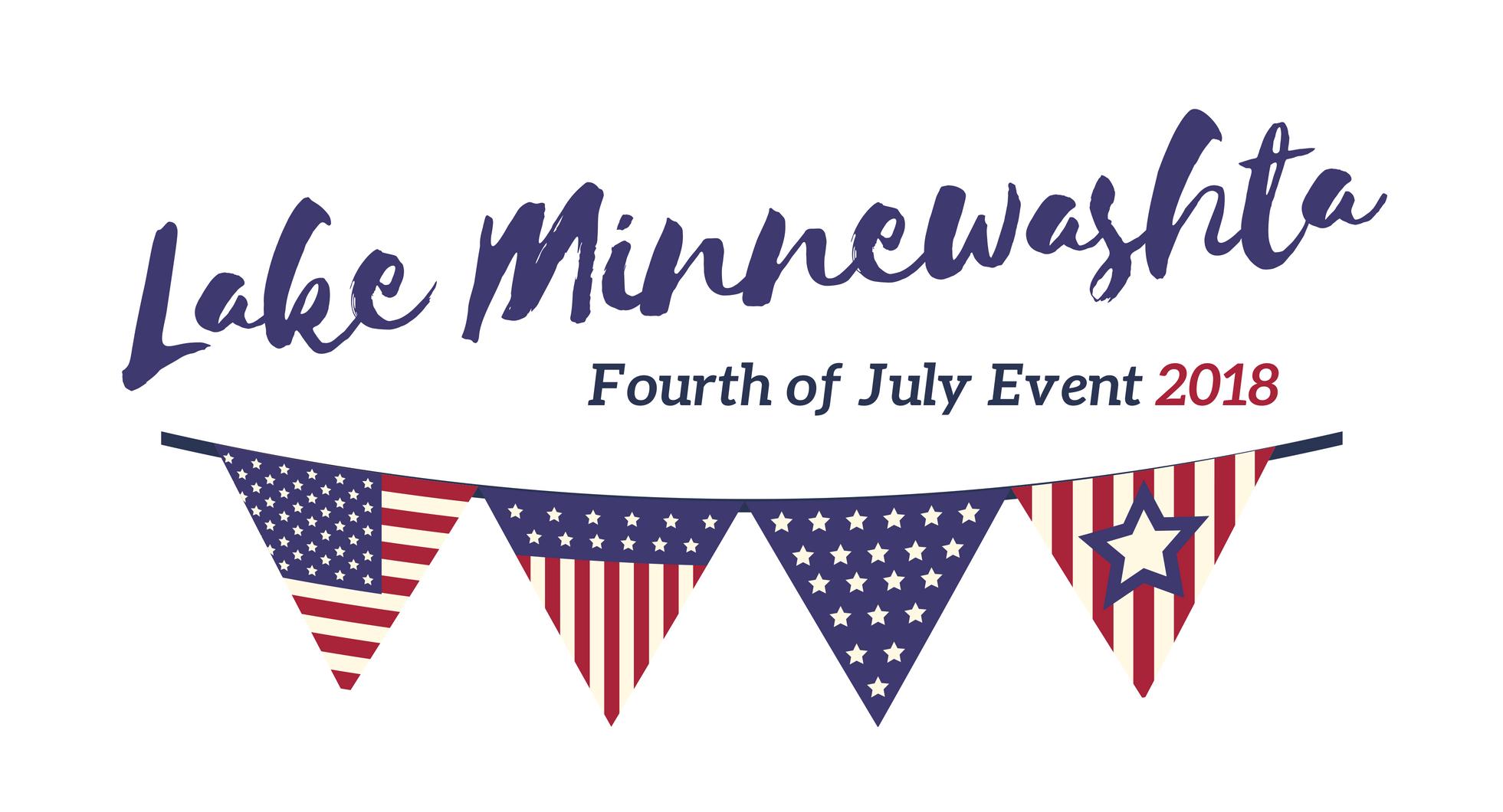 Lake Minnewashta 4th of July event