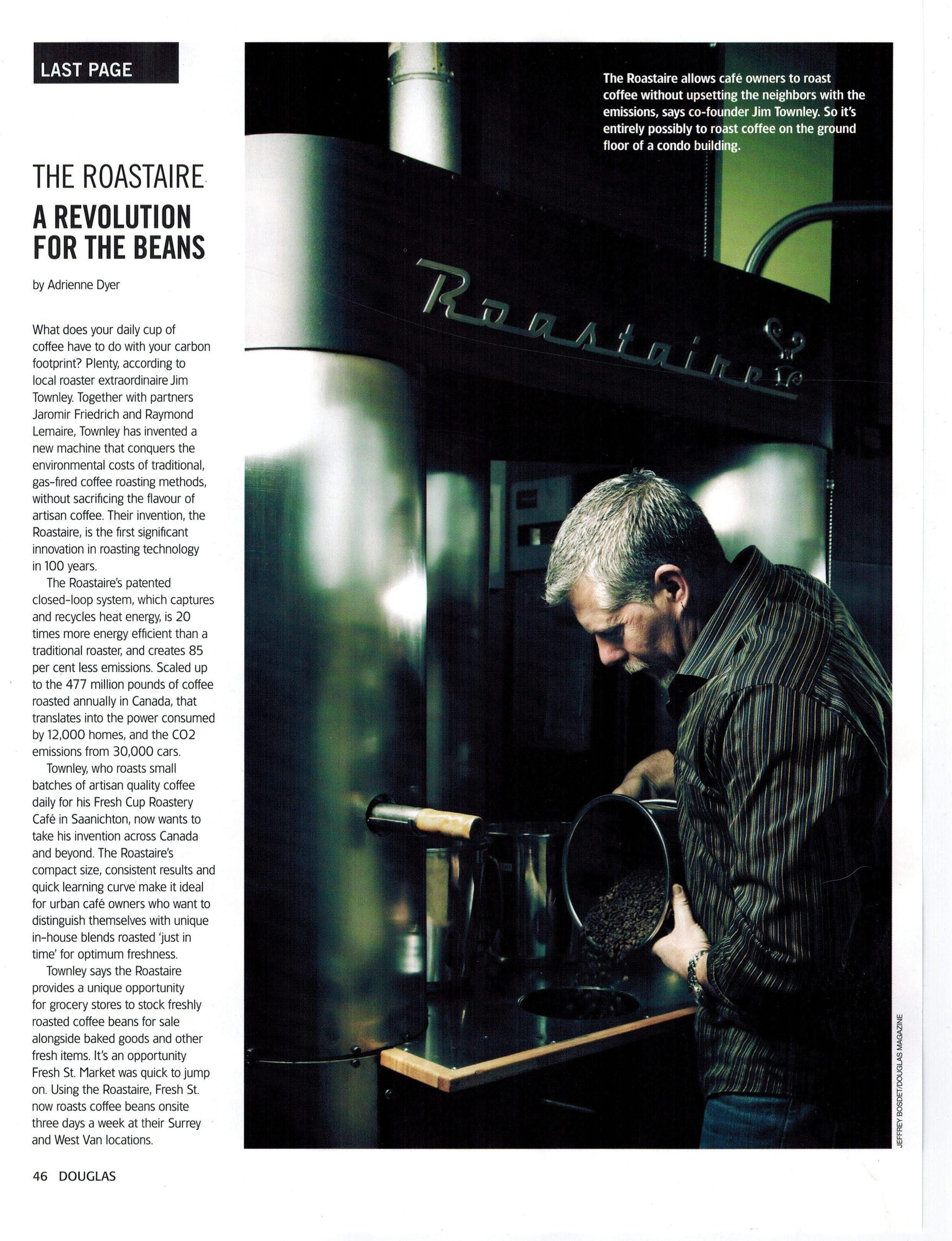 Download or view Douglas magazine article (April 2014)