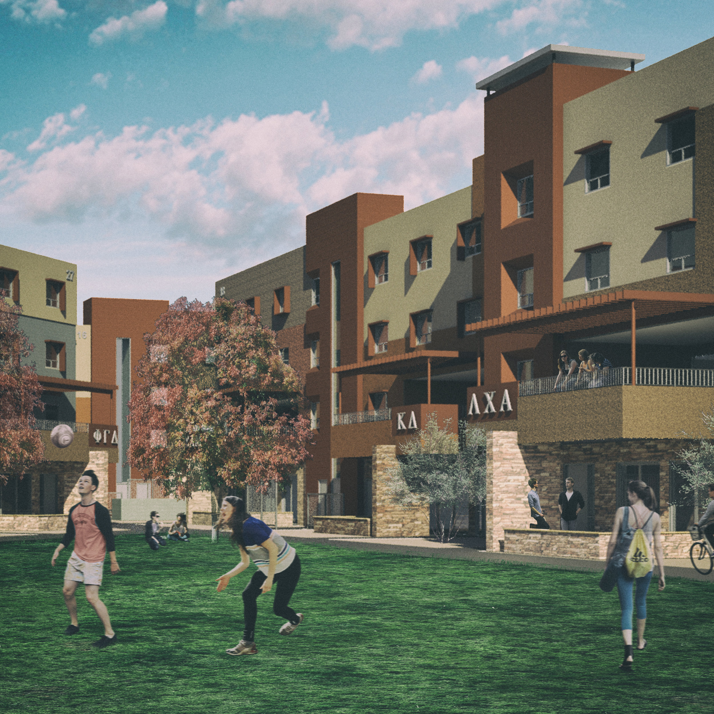 Greek Leadership Village - Tempe328,881 sq ft$82,600,000End Date: August 2018