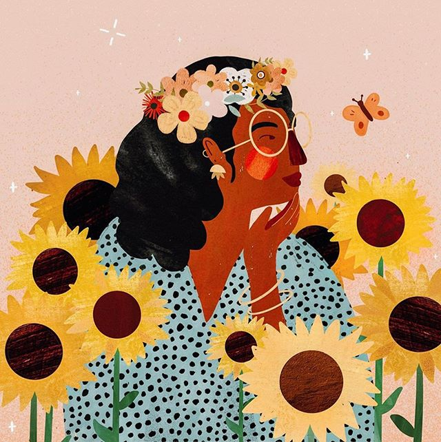Never have the sun's little darlings been so welcome. Art by⁣ @aruallhuillier⠀ .⁣⠀ .⁣⠀ Tag #womenofillustration for a chance to be featured or become a Patron for a paid promo.⁣ Link in bio⁣⠀ .⁣⠀ .⁣⠀ #art #artist #artwork #artgirl #femaleart #creative #creativity #illustration #illustrator #illustracion #femaleillustrator #femaleartist #womanartist #femaleartists #womenartists #womeninart #flower #sunflower #sunflowers #flowers #butterfly #butterflies #summerlove #summer #summerfun #summervibes #nature #flowerstagram #flowersofinstagram
